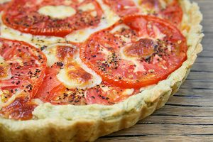 Tomato Tart for Brunch — Mmm!