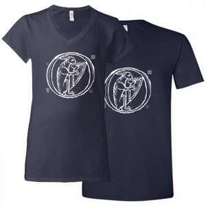 Men's and Women's harp t-shirt