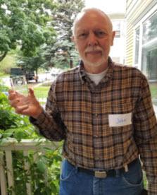 John Hinners, Charlotte Fairbairn Award winner